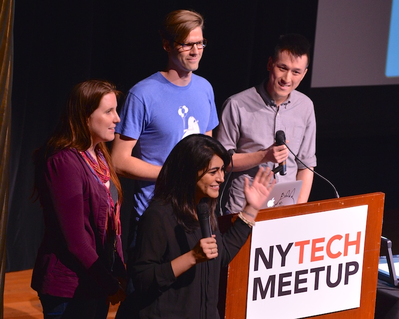 Team BikeWithFriends at NYTM 8/7/13 (Qool Photo)